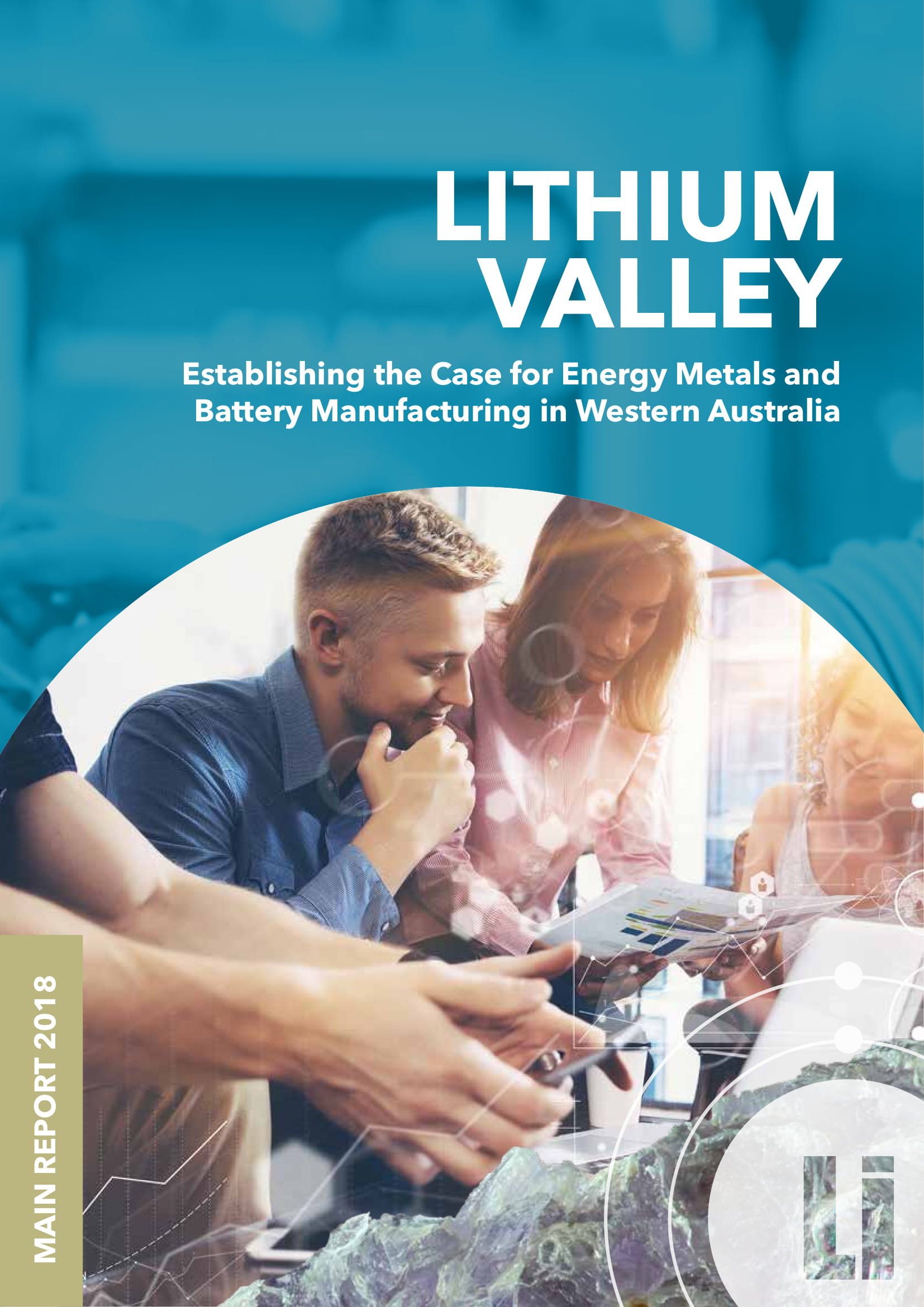 Lithium Valley Western Australia Report 2018 Cover