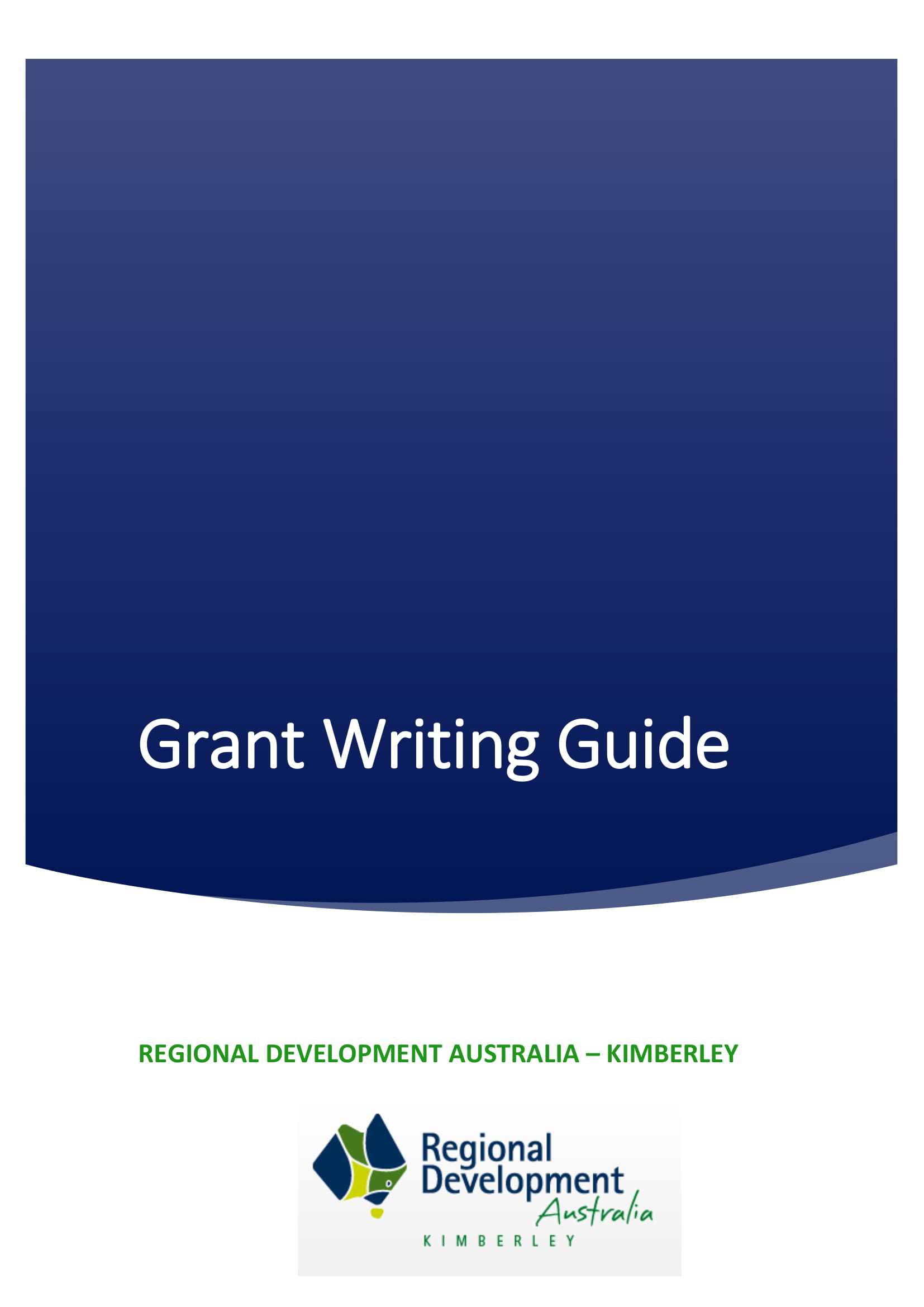 RDA-Kimberley-Grant-Writing-Guide-Cover