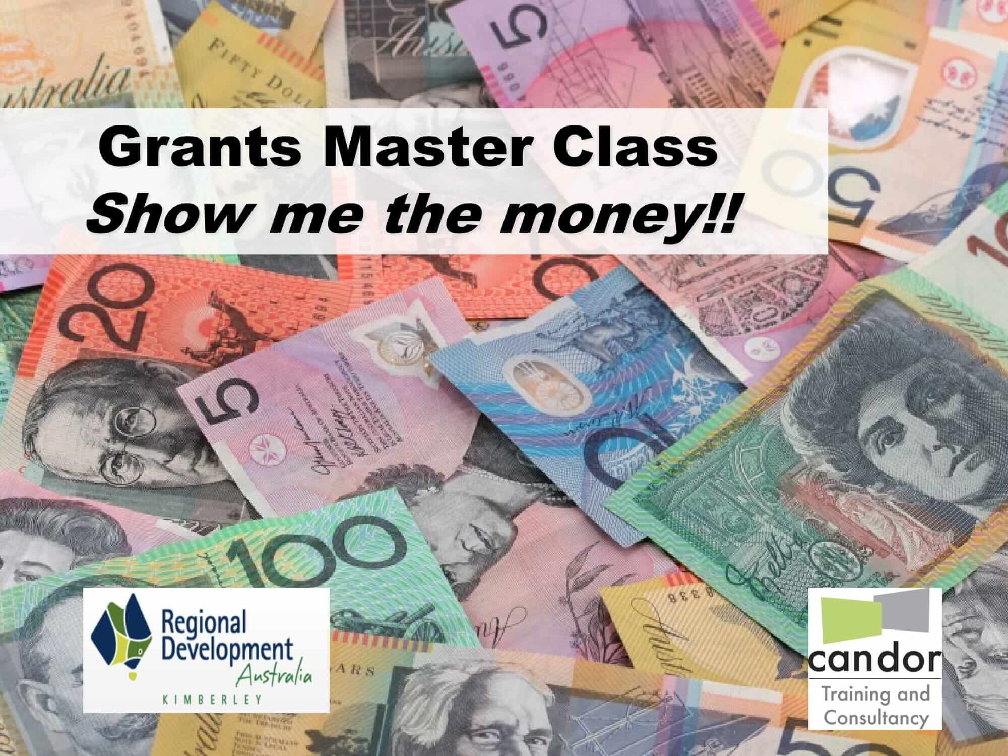 RDA Grants Masterclass presentation